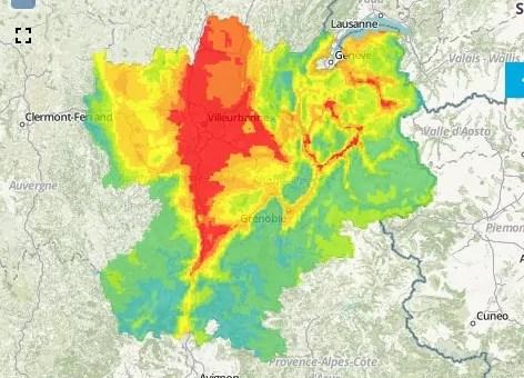 Le plus long pic de pollution aux particules fines à Lyon depuis 2013