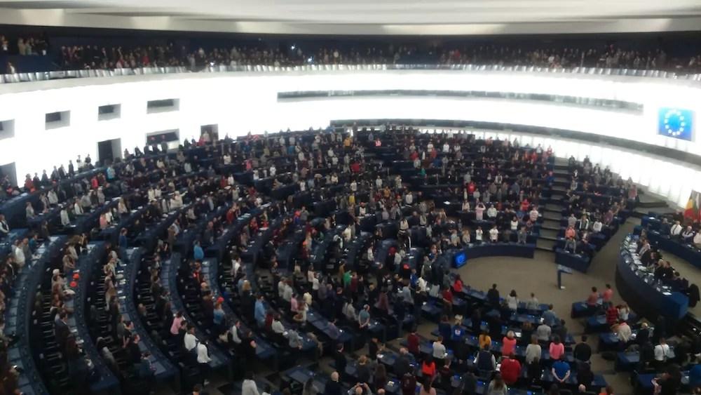 Convention de Strasbourg au Parlement européen. ©DR