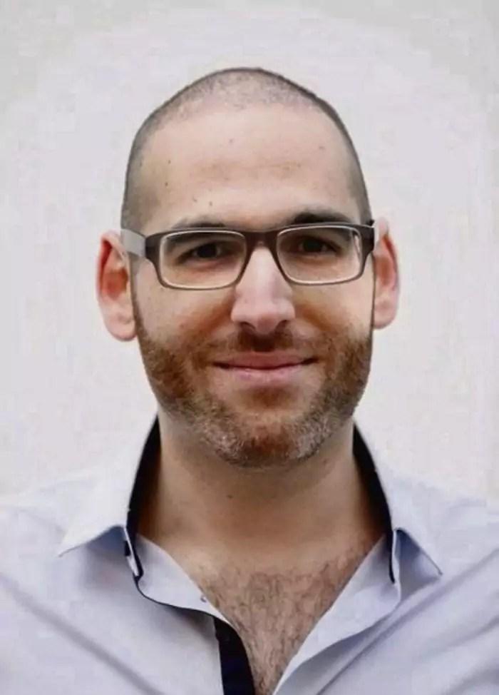 Yohann Roszewitch, président d'SOS homophobie. Crédit : D.R. (photo fournie par Yohann Roszewitch)