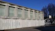 Le gymnase Clémenceau, d'une capacité de 140 places, est le deuxième gymnase à ouvrir pour le plan grand froid. ©LB/Rue89Lyon