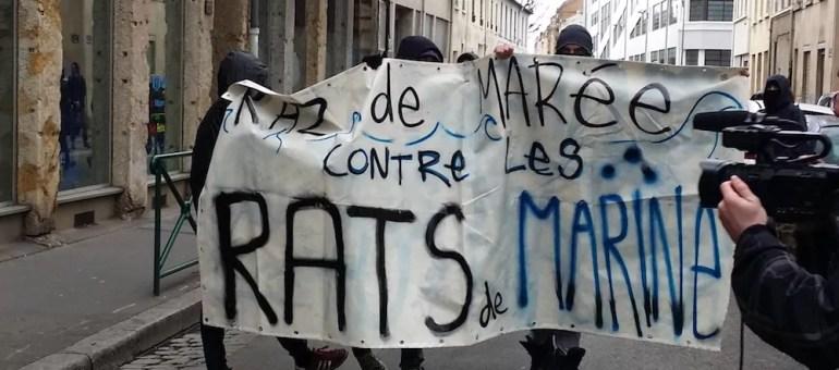 À Lyon, la galaxie antifasciste dispersée face à l'extrême droite