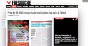 Capture d'écran du site Fdesouche