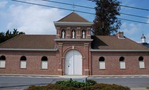 L'ancien portail d'entrée de l'abbaye. DR