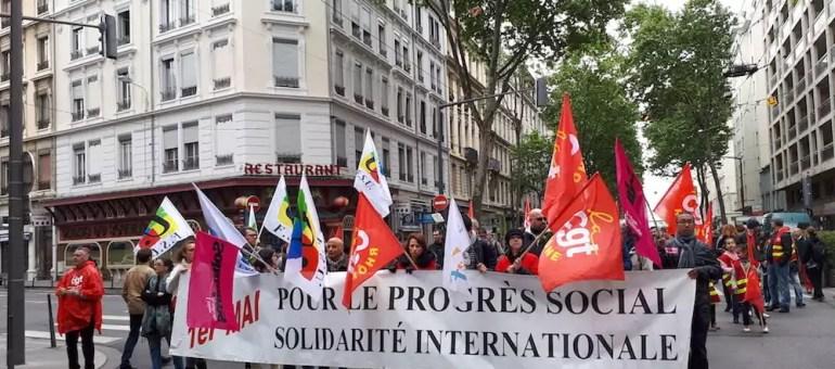 1er mai à Lyon : «Même si on vote pour Macron, le lendemain on sera dans la rue»