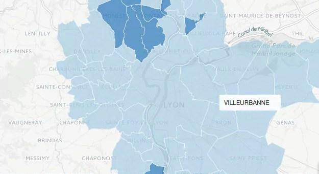 Présidentielle 2017 : les résultats du second tour dans la Métropole de Lyon