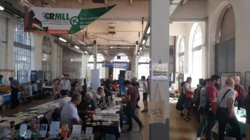 Les 17e rencontres mondiales du logiciel libre se sont tenues à la Manufacture à Saint-Étienne. Photo BE/Rue89Lyon