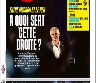 La presse se demande mais «who is Laurent Wauquiez?»