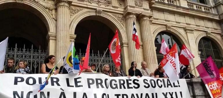 A Lyon, troisième journée contre la loi travail 2 : « la rue, c'est la CGT »