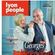 La Une du numéro de Lyon People de novembre 2017. DR