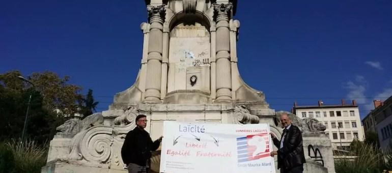 Fondue sous l'occupation nazie, la statue de Burdeau n'a toujours pas retrouvé sa place à Lyon