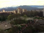 Le parc de la Villeneuve à Grenoble. Crédit photo : Clémentine Méténier