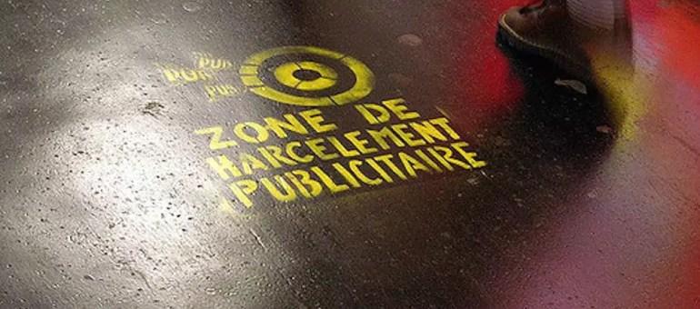 Publicité sur les trottoirs : d'abord enthousiaste la Métropole de Lyon temporise