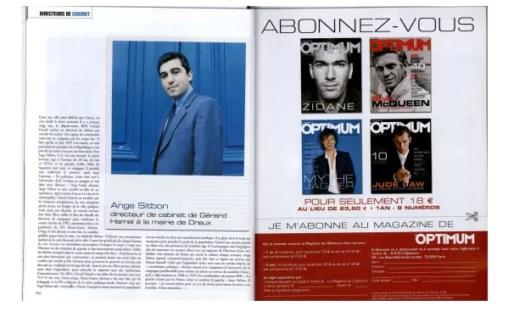 Capture d'écran du magazine Optimum, n°48 (2002).