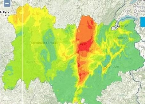 A Lyon, 4ème pic de pollution aux particules fines de l'hiver