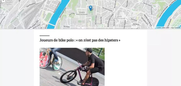 Notre carte des spots où faire du street-sport à Lyon, hors club