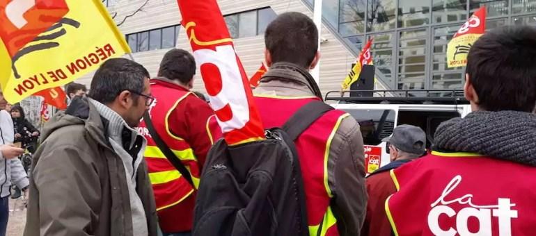 Grève à la SNCF : un millier de manifestants à Lyon pour le 1er jour du «marathon des cheminots »