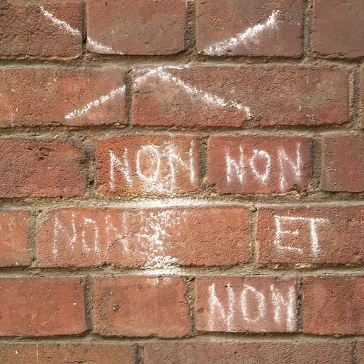 C'est non (Photo FlickR / CC)