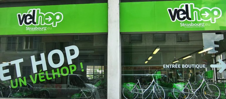 La première station Vélhop en dehors de Strasbourg ouvrira jeudi 11 avril