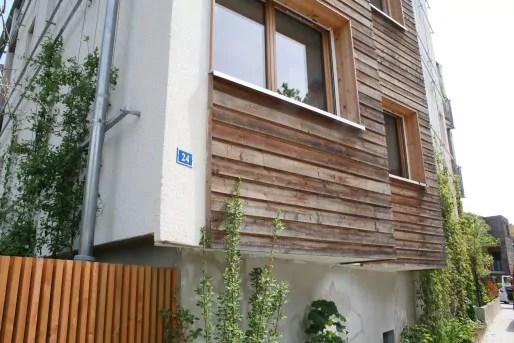 Le 24 rue de Lunéville abrite le premier habitat participatif de Strasbourg. (LJ / Rue89 Strasbourg)