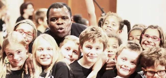 Alfonso Nsangu : «Les Gospel Kids, ça a commencé il y a 15 ans à Hautepierre»