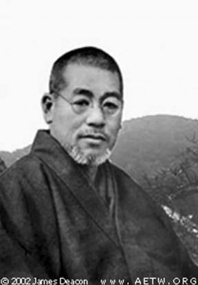 Voici Mikao Usui (1865-1925), le fondateur du reiki. Il a même fondé un centre de guérison reiki à Tokyo dans les années 20 (Photo James Deacon / FlickR cc)