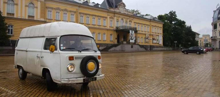 À l'Est de la Bulgarie, Lénine s'effrite