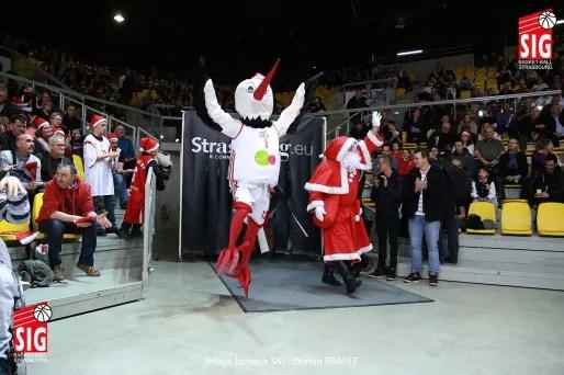 Au Rhénus, c'était Noël toute l'année (Photo Sigbasket)