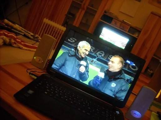 Raymond Domenech était vendredi à la Meinau pour commenter le match du Racing.