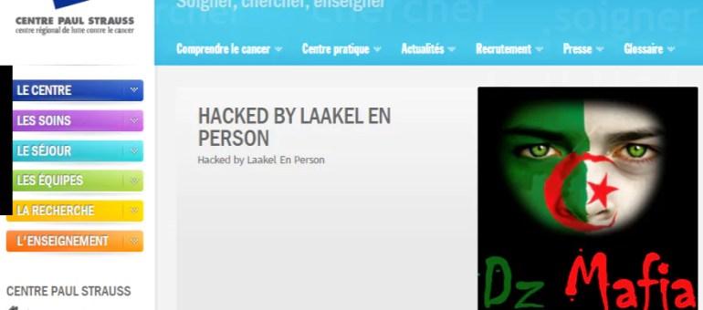 Le site du centre Paul Strauss piraté par un djihadiste