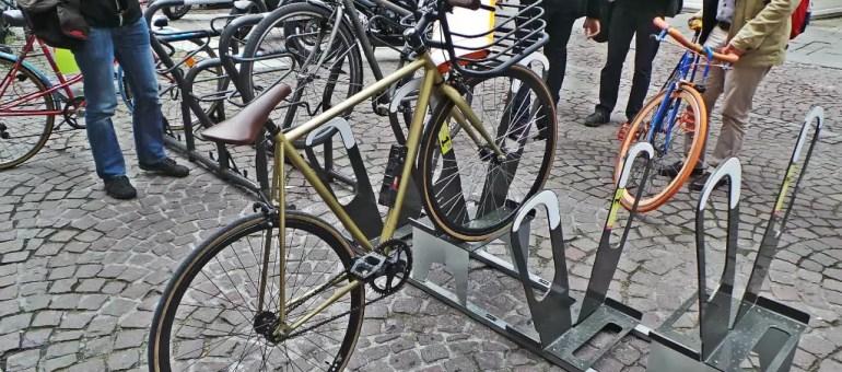 De nouveaux arceaux à tester pour moins de vélos dans l'hypercentre