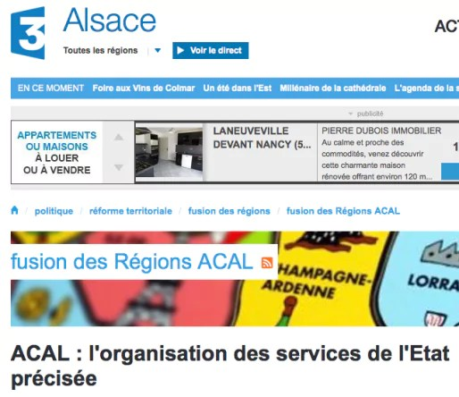 France 3 Alsace (Capture MM)