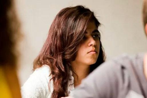 Hamosa est née à Kaboul. Elle est arrivée à Strasbourg en 2012 et a appris le français en quatre mois. Elle souhaite intégrer la classe préparatoire du lycée après le bac.