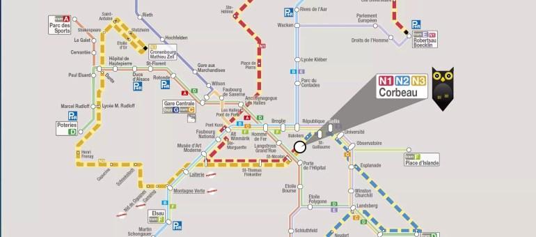 De minuit à 5h du matin, les bus de la CTS s'appellent Hibus