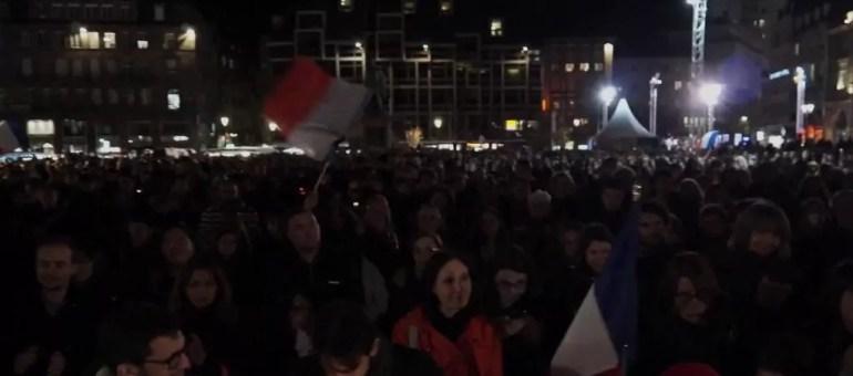 Des milliers de Strasbourgeois rendent hommage aux victimes