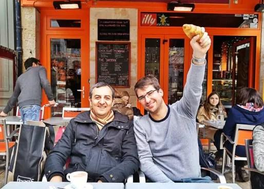 David Guez (à gauche) et Thibauld Favre (à droite) veulent réussir une primaire en dehors de tout cadre de parti politique. (photo la primaire)