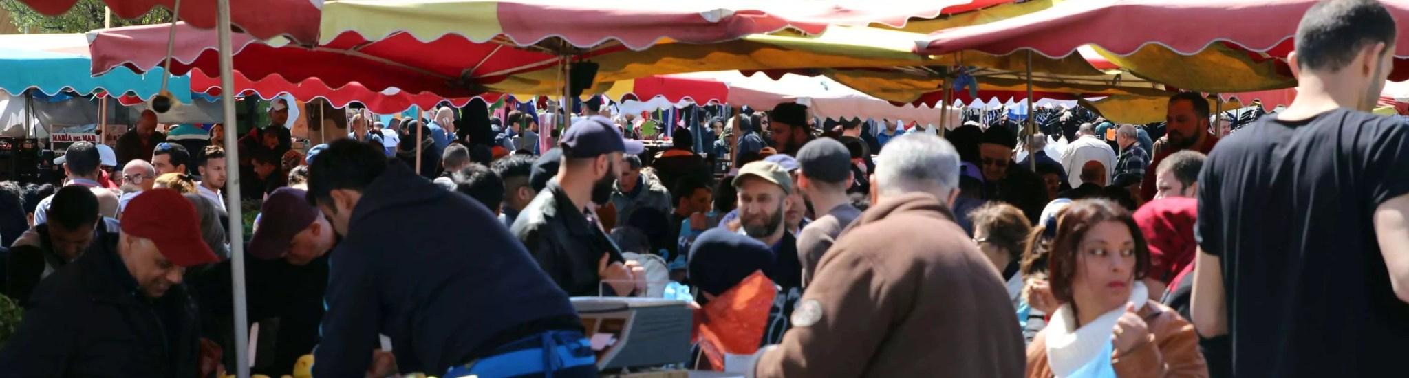 Au marché de Hautepierre, le prix des légumes s'adapte aux budgets