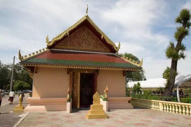 Pagode Wat Simoungkhoune (Photo : FL / Rue89 Strasbourg)