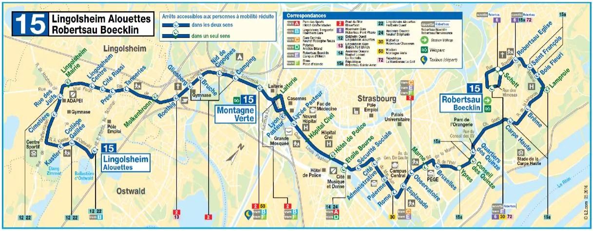 Contre l'obsolescence de son réseau de bus, Strasbourg se dote de lignes structurantes