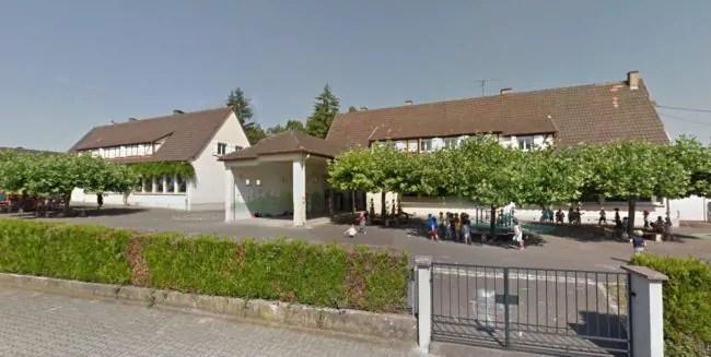 L'école du Bauernhof à Eckbolsheim (Photo Google Street View)