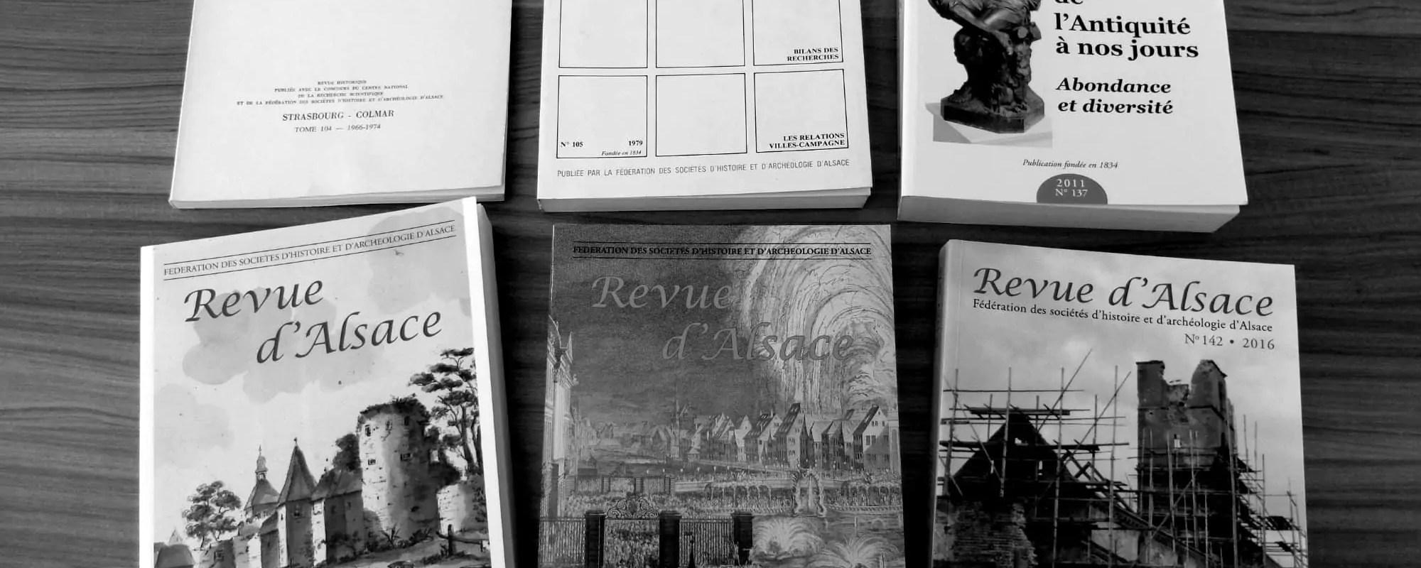 Avec la Revue d'Alsace, les profs d'histoire se parlent entre eux depuis1850