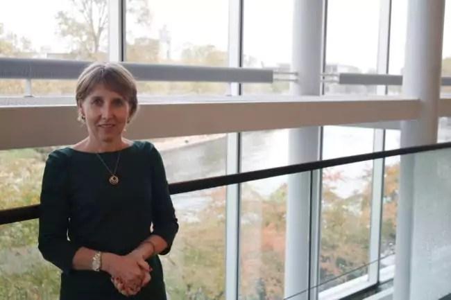 Au Parlement Européen, Anne Sander dit défendre l'industrie, les PME et l'emploi (Photo DL/ Rue 89 Strasbourg/ cc)