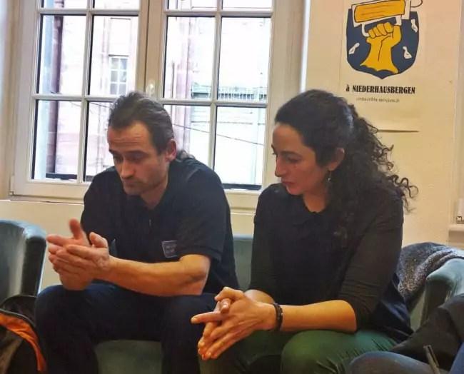Franck et Imène Julich estiment ne plus avoir les moyens de mener le combat contre leur maire (Photo PF / Rue89 Strasbourg / cc)