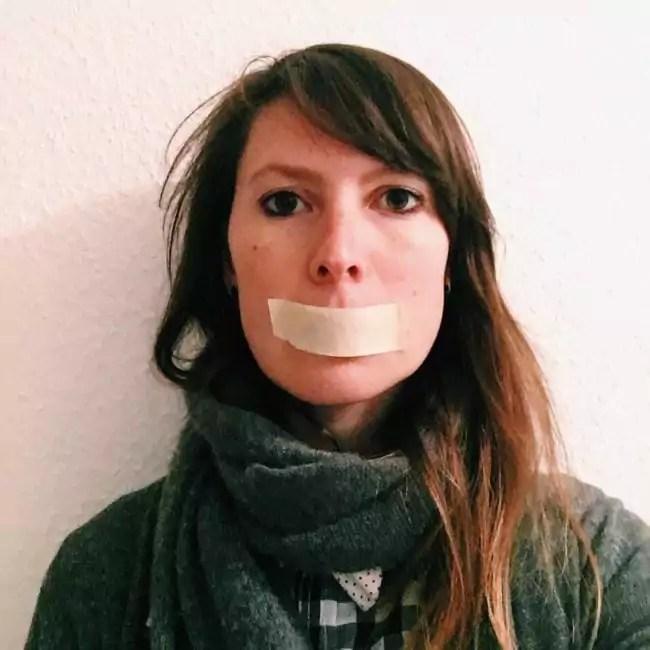 Aurélie se dit choquée de ne pas pouvoir voter. (doc remis / Facebook)