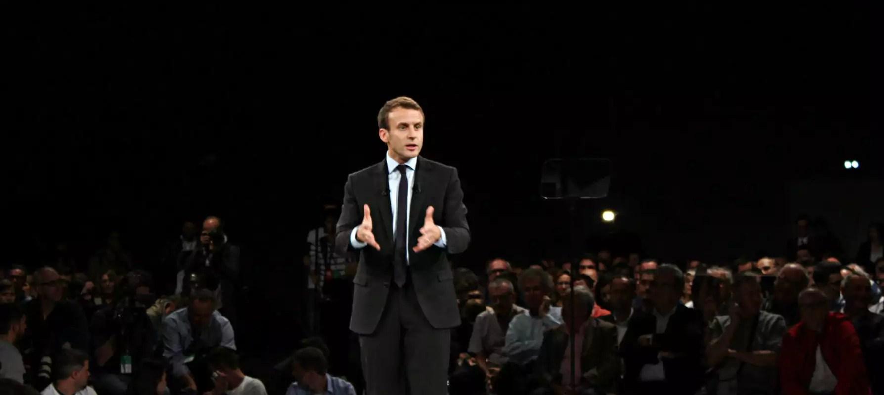 Pas de promo d'ami pour le candidat Macron à Strasbourg