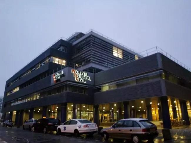 """Dernièrement, le nettoyage a été externalisé à la """"Médicale B"""" au Nouvel Hôpital Civil (Ph1oto wikimedia commons/ cc)"""