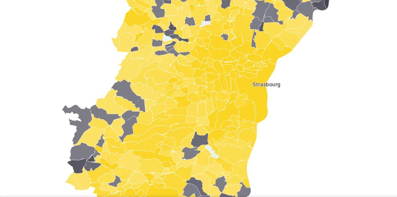 Présidentielle : l'Alsace à 61% pour Emmanuel Macron