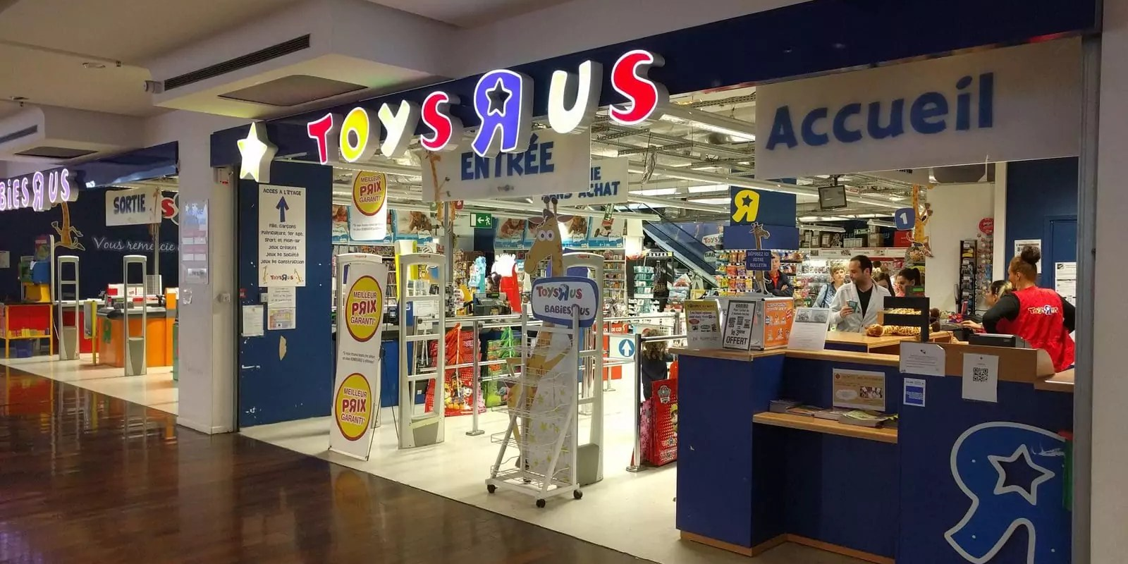 En juin, Toys R Us ferme son magasin de Strasbourg