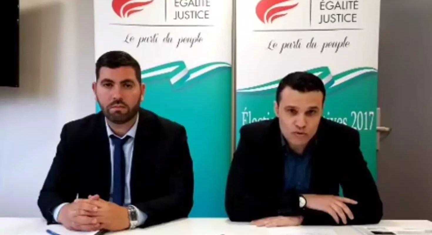 Législatives : pari perdu pour le Parti Egalité Justice