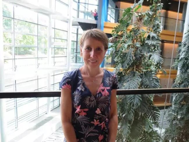 """Anne Sander, eurodéputée alsacienne (PPE) est membre de la """"Task Force"""" pensée pour défendre le siège strasbourgeois. (Photo CS / Rue89 Strasbourg / cc)"""