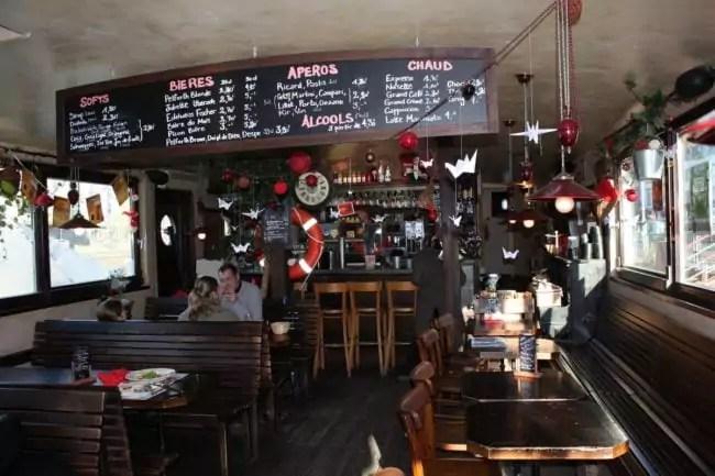 Café Atlantico brunch péniche